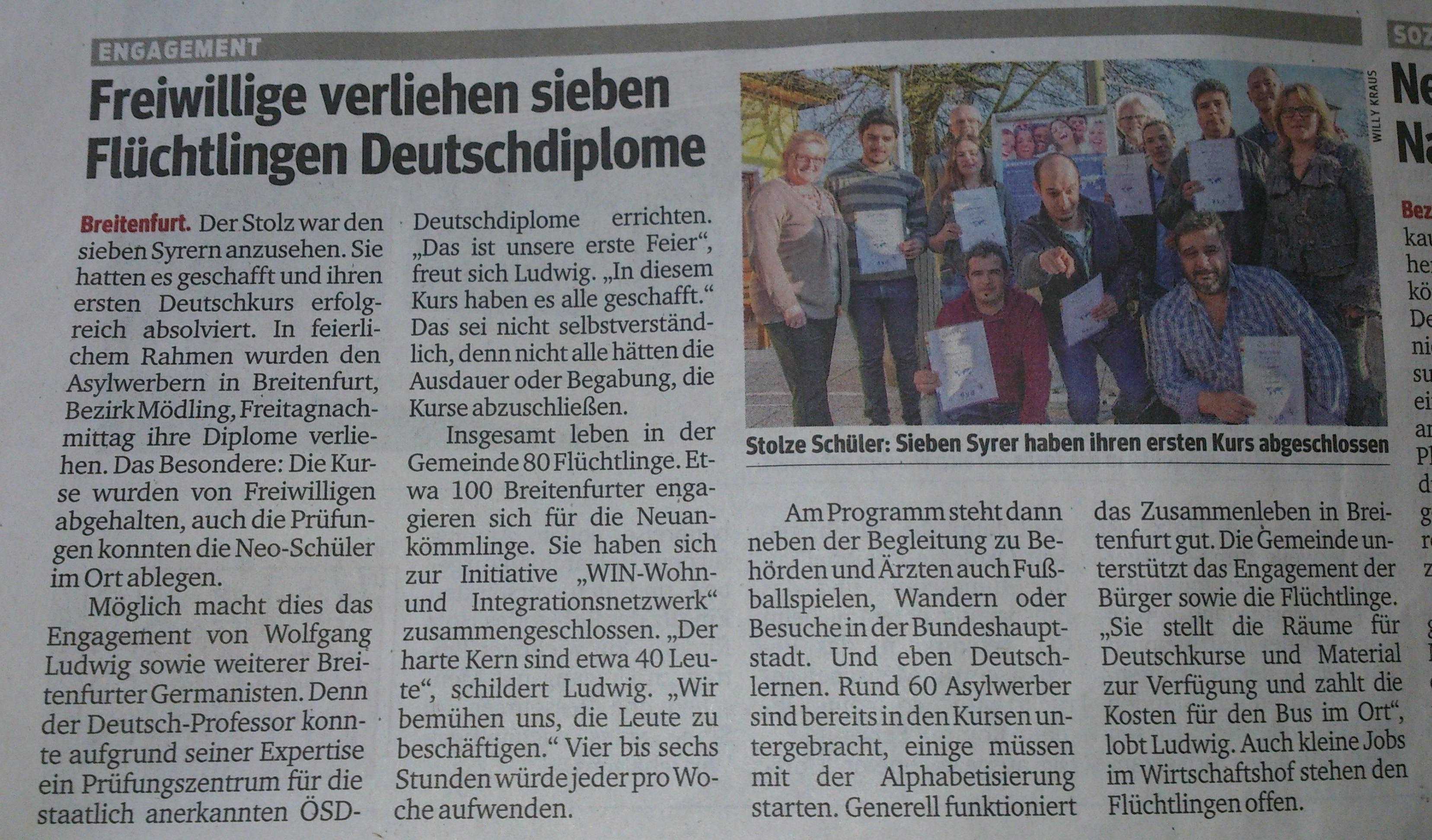 Deutschdiplome KURIER